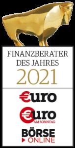 Finanzberater des Jahres 2021